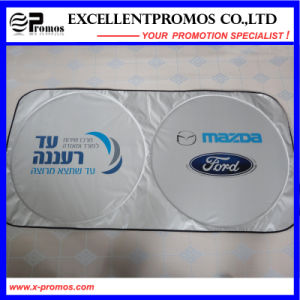 Promotional Double Circle Polyester Car Sunshade (EP-CS1015) pictures & photos