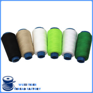 Low-Elongation 100% Spun Polyester 20s/3 Jeans Sewing Thread