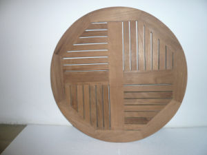 Outdoor Round Teak Table Top pictures & photos