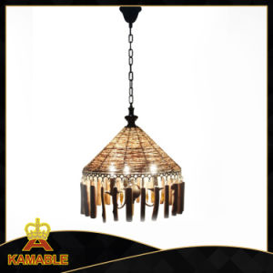 Hot Sale Rattan Branch Suspension Holiday Village Pendant Light (KATZ-103-3) pictures & photos