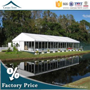Premium Outdoor Clear Glass Wall VIP Marquee Big Event Tent with Integrated Cassette Floor for Merchandising pictures & photos
