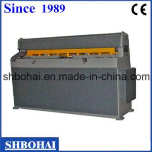 Bohai Brand CNC Hydraulic Guillotine Shearing Machine pictures & photos
