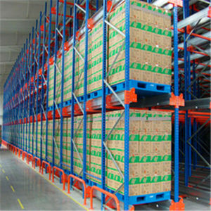 Heavy Duty Warehouse Radio Shuttle Channel Racking System pictures & photos