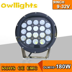 Auto Spare Parts Truck 180W Spot/Flood/Combo LED Driving Work Light for 4X4 SUV Tractor Boat LED Auto