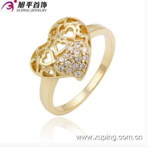 New Style Xuping Fashion Heart Shaped Ring pictures & photos