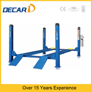 Hottest Item Dk-F35 Hydraulic Four Post Car Lift pictures & photos