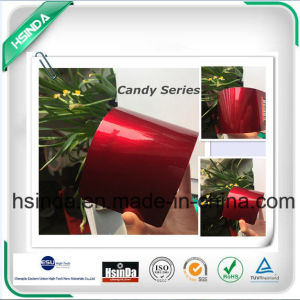 New High Gloss Candy Red Transparent Powder Coating pictures & photos