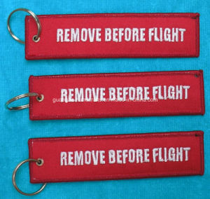 Customized Remove Before Flight Keychain Wholesale pictures & photos