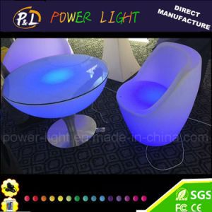 Event Party Wedding Outdoor Illuminated Color Changing Half Moon Table pictures & photos