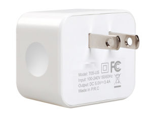 Us Plug 5V3.4A USB Mobile Phone Charger with Ce/RoHS/FCC pictures & photos