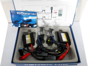 DC 24V 55W H7 HID Lamp (blue and blak wire) pictures & photos