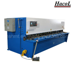 Hydraulic Swing Beam Shearing Machine/CNC Cutting Machine/Fabrication Plate Shearing Machine pictures & photos