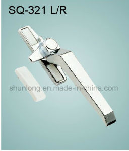 Zinc Alloy Handle for Windows/Doors Hardware (SQ-321 L/R) pictures & photos