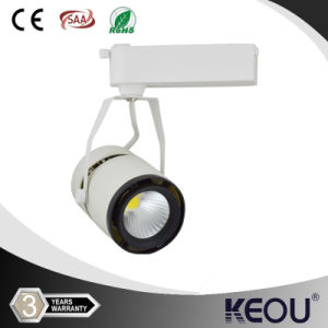 3000k 4000k 6000k COB LED Track Light Black White Silver pictures & photos