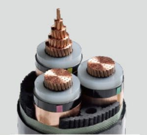 3-Core Copper (Aluminum) XLPE Insulated PVC Sheathed Steel Strip (Steel Wire) Armored Power Cable