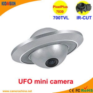 CMOS 700tvl Miniature UFO Security CCTV Camera pictures & photos
