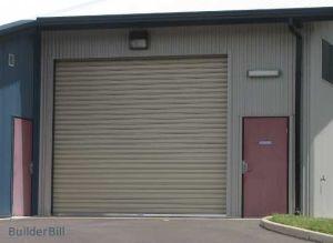 Motorized Roller Factory Door (TMRD002) pictures & photos