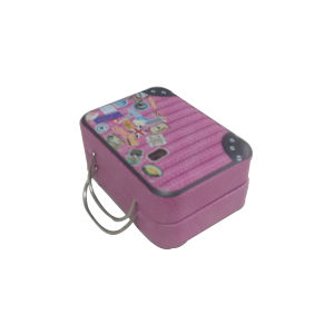 Wholesale Bag Shaped Metal Tin Case with Handle pictures & photos
