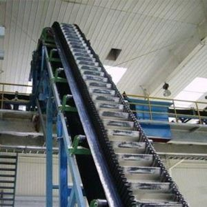 Fertilizer Corrugated Sidewall Inclined Belt Conveyor System pictures & photos