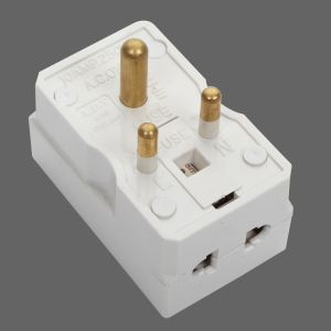 5A Adaptor/Plug Top Round Pin