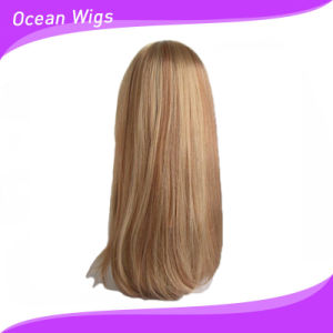 Popular Synthetic Hair Wig with Light Color pictures & photos
