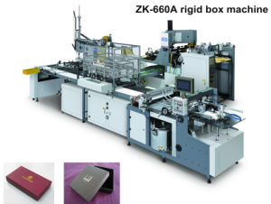 Full Automatic Belt Box Forming Equipment (ZK-660A) pictures & photos