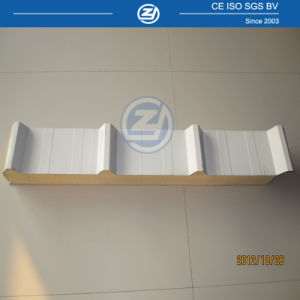 China Wholesale Polyurethane Sandwich Panel for Roofing pictures & photos