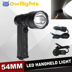 10W LED Flash Light 12V 10W LED Handheld Light Rechargeable Remote Handy 10W LED Work Light for Hiking Hunting