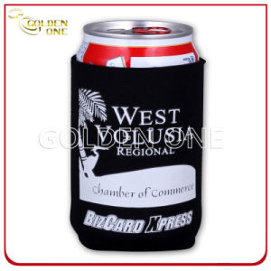 Promotion Gift Silk Screen Waterproof Stubby Can Cooler pictures & photos