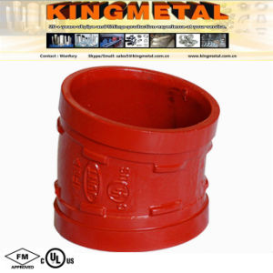 "11.25 Degree 3"" Fire Fighting Grooved Coupling Elbow FM / UL pictures & photos"