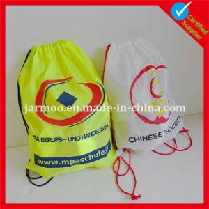 Custom Printed Logo Drawstring Bag Pattern Free pictures & photos