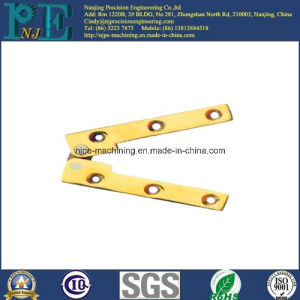 China Supply Custom CNC Machining Brass Hinge pictures & photos