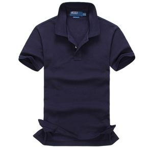 Hot Sale Cotton Fashion Polo Shirt with Customized Logo pictures & photos