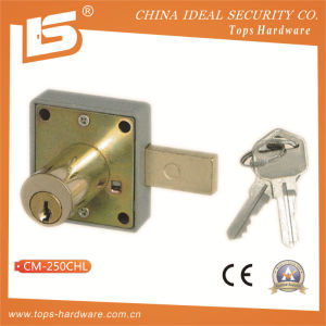 Zinc Furniture & Desk & Cabinet Drawer Lock (CM-250CHL) pictures & photos