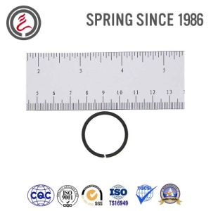 Custom Blackening Small Wire Spring (Retainer Ring) pictures & photos