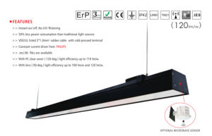 Linear LED High Bay Light 150cm for Warehouse Lighting pictures & photos