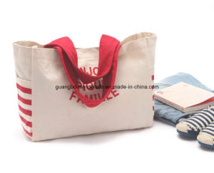 Custom New Style Color Beauty Canvas Bag (GB-10004) pictures & photos