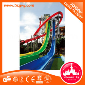 Fiberglass Pool Tube Slides Outdoor Water Playground in Guangzhou pictures & photos