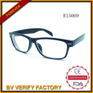 R15069 Glassic Plastic Reading Glasses with Pins in Front pictures & photos
