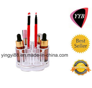 Custom Acrylic Flower Stand for Makeup (YYB-036) pictures & photos