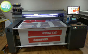 Manufacturer Belt Conveyor Printing Machine for Roll and Piece Material pictures & photos
