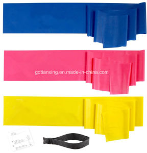 Hot Sell Latex Flat Stretch Bands Assisted Pull up Band pictures & photos