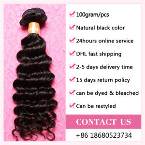 2017 Loose Deep Curly Brazilian Virgin Hair Popular Women Hair Accessories pictures & photos
