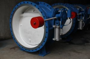 Weight Hammer Hydraulic Slow Closing Butterfly Valve