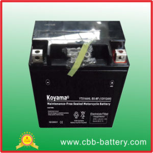 Personal Watercraft, Jet Ski & Wave Runner Batteries Sealed Motorcycle Battery Ytx14ahl-BS, 12V 12ah pictures & photos
