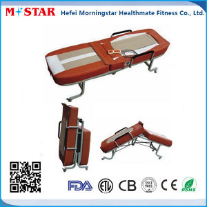 High Quality Electric Foldable Jade Massage Bed pictures & photos