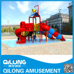 Swing Pool Water Slide Playground Equipment (QL-150707D) pictures & photos