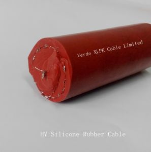 Hv 10kv ~ 100kv Copper Wire Shielded Silicone Rubber Cable pictures & photos