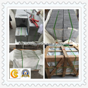China Grey Black White Yellow Outside Flamed Granite Marble Floor Tile pictures & photos