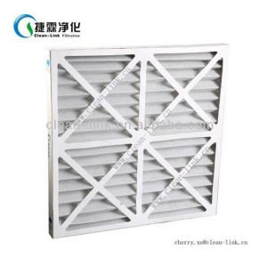 Merv 8 Air Conditioning Synthetic Fiber Pleated Filter pictures & photos